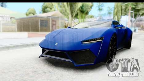 GTA 5 Pegassi Reaper SA Style für GTA San Andreas