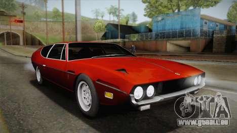 Lamborghini Espada S3 39 1972 für GTA San Andreas