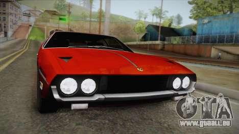 Lamborghini Espada S3 39 1972 für GTA San Andreas rechten Ansicht