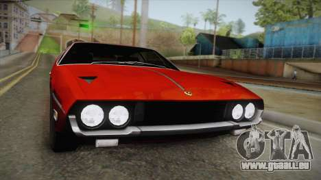 Lamborghini Espada S3 39 1972 pour GTA San Andreas vue de droite