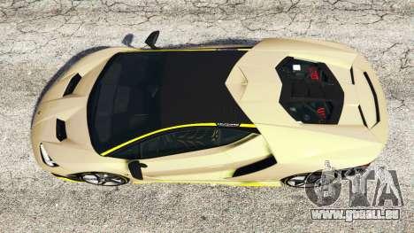 GTA 5 Lamborghini Centenario LP770-4 2017 [replace] Rückansicht