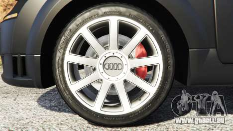 GTA 5 Audi TT (8N) 2004 [add-on] hinten rechts