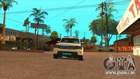 Range Rover Sport ДПС pour GTA San Andreas vue de droite