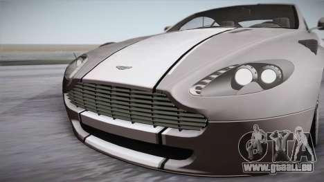 NFS: Carbon TFKs Aston Martin Vantage pour GTA San Andreas vue de droite