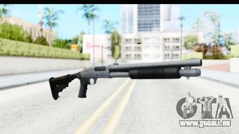 Tactical Mossberg 590A1 Chrome v4 pour GTA San Andreas