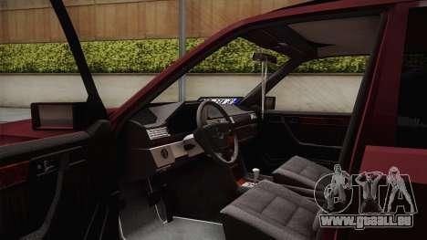 Mercedes-Benz E500 German Style für GTA San Andreas Rückansicht