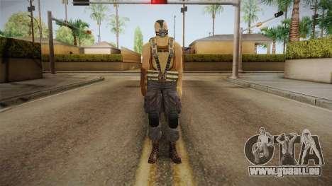The Dark Knight Rises - Bane pour GTA San Andreas deuxième écran