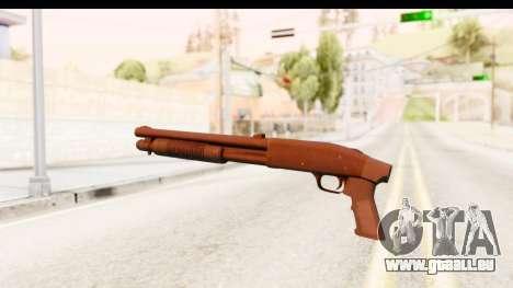 Tactical Mossberg 590A1 Black v1 für GTA San Andreas zweiten Screenshot