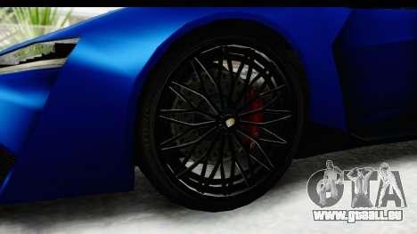 GTA 5 Pegassi Reaper SA Style für GTA San Andreas Rückansicht