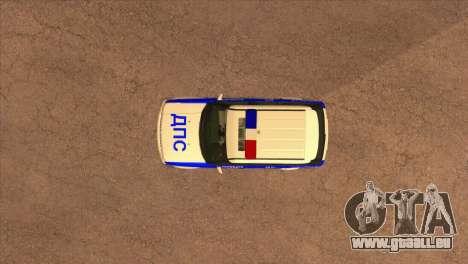 Range Rover Sport ДПС pour GTA San Andreas vue de côté