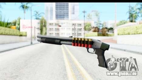 Tactical Mossberg 590A1 Chrome v3 für GTA San Andreas dritten Screenshot