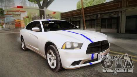 Dodge Charger 2013 Undercover für GTA San Andreas