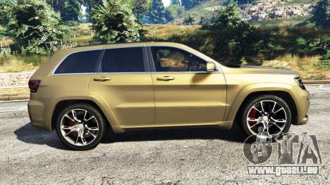 Jeep Grand Cherokee SRT-8 2014 [replace] pour GTA 5