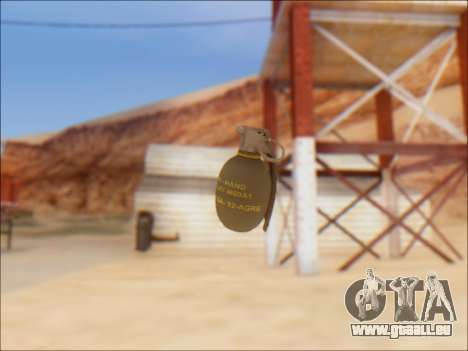 GTA 5 Grenade pour GTA San Andreas