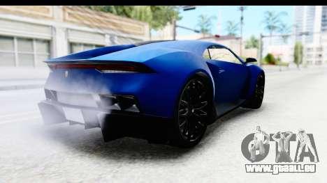GTA 5 Pegassi Reaper SA Style pour GTA San Andreas laissé vue
