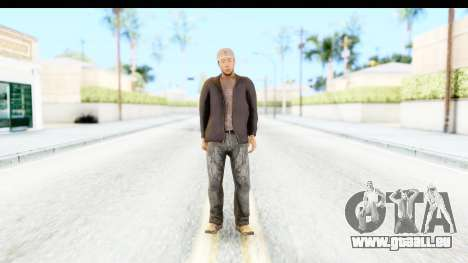 GTA 5 Korean Gangster 2 pour GTA San Andreas deuxième écran