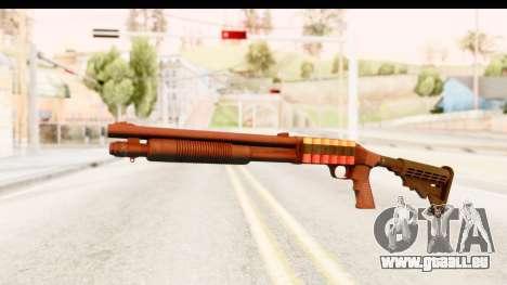 Tactical Mossberg 590A1 Black v2 für GTA San Andreas