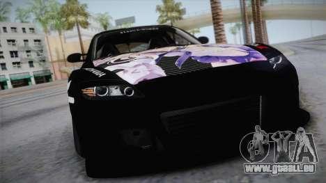 Mazda RX-8 VIP Stance Shimakaze Itasha für GTA San Andreas rechten Ansicht