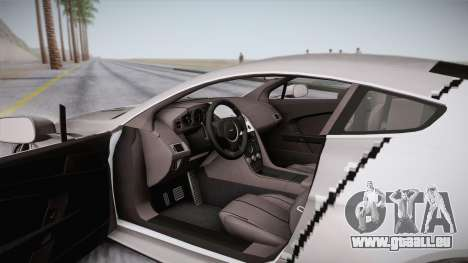 NFS: Carbon TFKs Aston Martin Vantage pour GTA San Andreas vue de côté