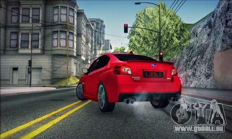 Subaru WRX 2015 für GTA San Andreas linke Ansicht