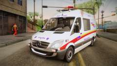Mercedes-Benz Sprinter 2012 SA EMS Alliance