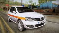 Dacia Logan Facelift Ambulanta v3 pour GTA San Andreas