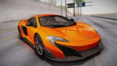 McLaren 675LT 2015 10-Spoke Wheels pour GTA San Andreas