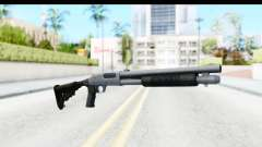 Tactical Mossberg 590A1 Chrome v4 pour GTA San Andreas