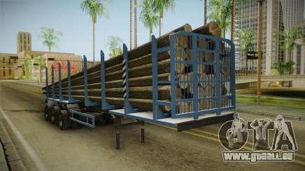 MAZ 99864 Remorque v1 pour GTA San Andreas