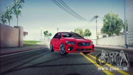 Subaru WRX 2015 pour GTA San Andreas