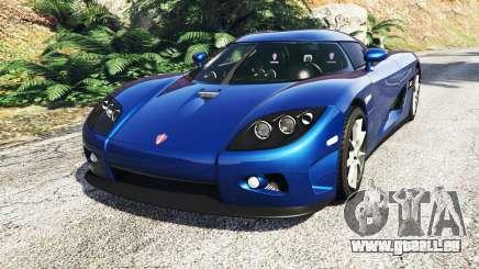 Koenigsegg CCX 2006 [Autovista] v2.0 [replace] für GTA 5