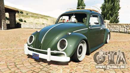 Volkswagen Fusca 1968 v1.0 [replace] pour GTA 5