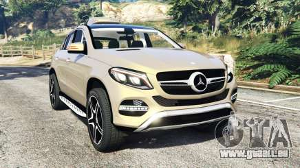 Mercedes-Benz GLE 450 AMG 4MATIC (C292) [add-on] pour GTA 5