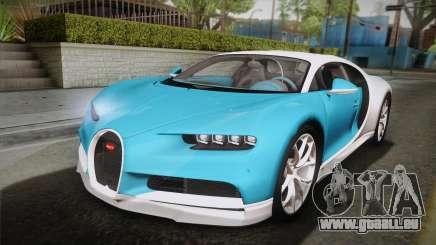 Bugatti Chiron 2017 v2.0 Korean Plate pour GTA San Andreas
