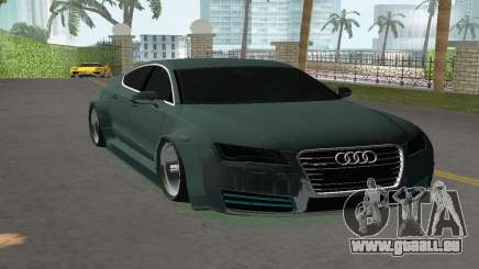 Audi A7 Sportback für GTA Vice City