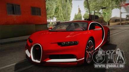 Bugatti Chiron 2017 v2.0 German Plate pour GTA San Andreas