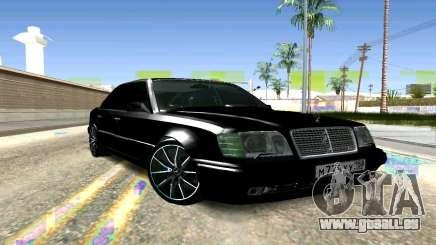Mercedes-Benz E500 W124 pour GTA San Andreas
