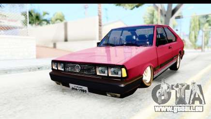 Volkswagen Passat Pointer GTS 1.8 1988 pour GTA San Andreas