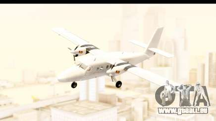 DHC-6-400 All White pour GTA San Andreas
