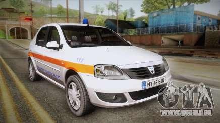 Dacia Logan Facelift Ambulanta v3 für GTA San Andreas