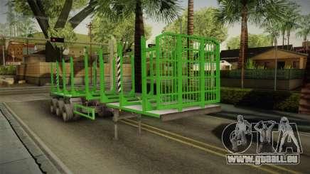 MAZ 99864 Trailer v2 pour GTA San Andreas