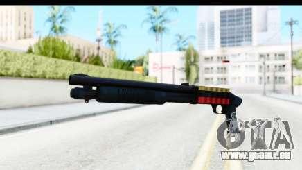 Tactical Mossberg 590A1 Black v3 für GTA San Andreas