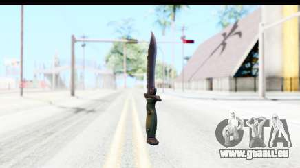 CS:GO - Bowie Knife pour GTA San Andreas