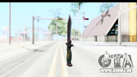 CS:GO - Bowie Knife für GTA San Andreas
