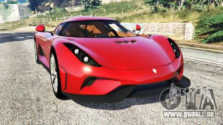 Koenigsegg Regera 2016 v1.1a [add-on] pour GTA 5