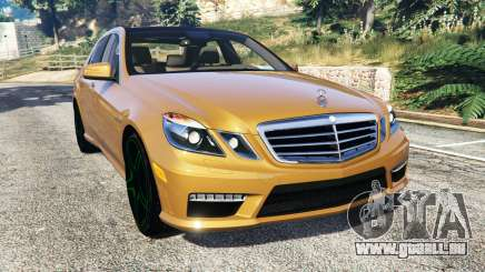 Mercedes-Benz E63 (W212) AMG 2010 [add-on] für GTA 5