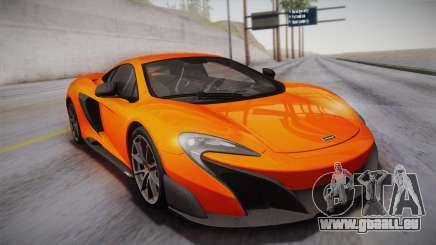 McLaren 675LT 2015 10-Spoke Wheels pour GTA San Andreas