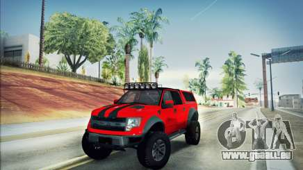 Ford F150 Raptor Long V12 pour GTA San Andreas