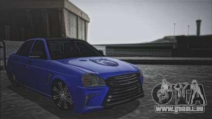 Lada Priora Lexus Amg für GTA San Andreas