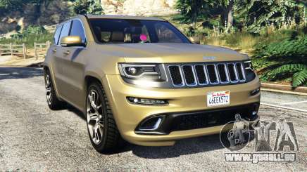 Jeep Grand Cherokee SRT-8 2014 [replace] für GTA 5